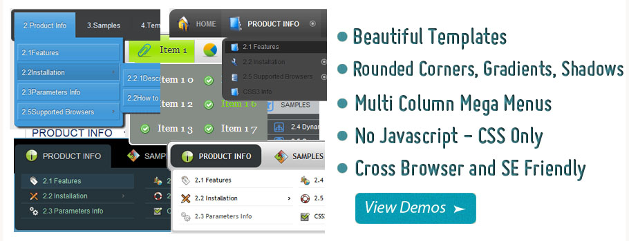Dropdown Menu Joomla 1 5 4 Demo